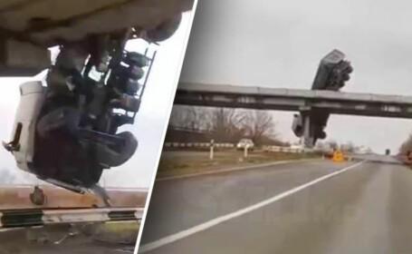 Camion suspendat