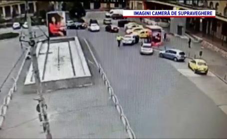 Polițist lovit cu mașina la Gara de Nord
