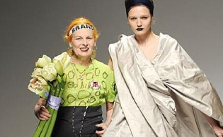 Vivienne Westwood ne imbraca cu fata de masa