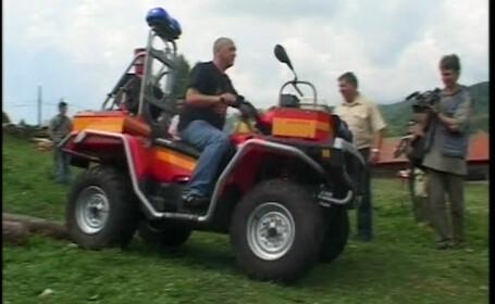 Politia vrea sa interzica circulatia ATV-urilor pe drumurile publice