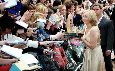 JK Rowling ramane cea mai bine platita autoare din lume