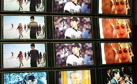 Televizorul conectat la internet, ultima gaselnita a japonezilor