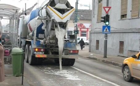 Peste 20 % din betonul folosit in Romania a fost fabricat la negru