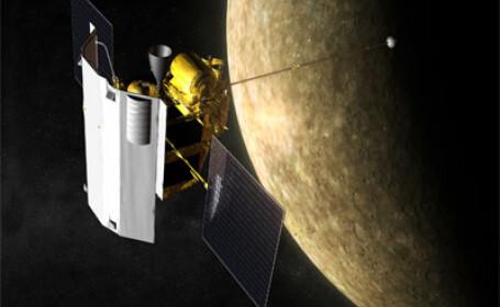 NASA a dat publicitatii cele mai recente fotografii cu Planeta Mercur