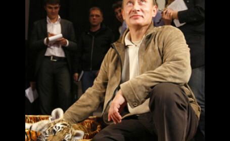 Fiorosul Putin a primit cadou un pui de tigru