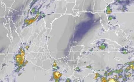 Uraganul Norbert, retrogradat la stadiul de furtuna
