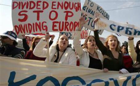 Violente in Muntenegru, dupa recunoasterea independentei Kosovo