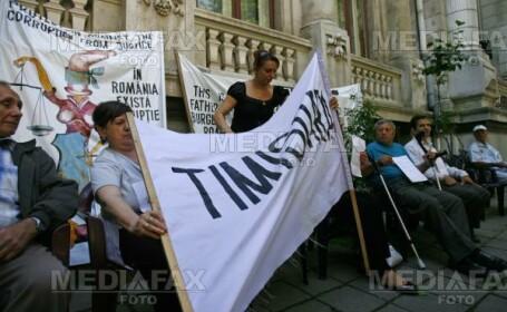 Protest in fata ICCJ
