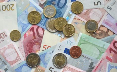 Leul s-a apreciat. BNR a anuntat o rata de referinta de 4,1998 lei/euro