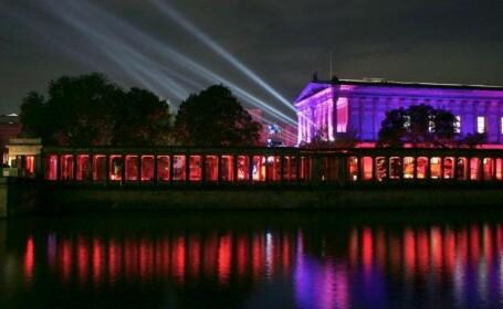 Spectacol cu lumini in capitala Germaniei