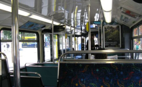 Autobuzul a fost evacuat