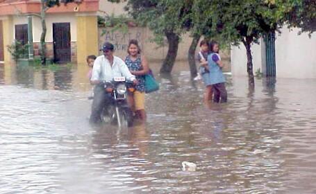 64 de morti in inundatiile din Brazilia