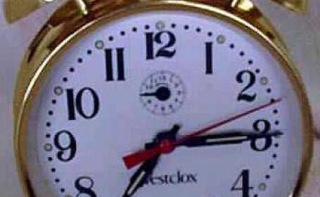 La noapte, dormim mai mult! Ora 4.00 devine ora 3.00!