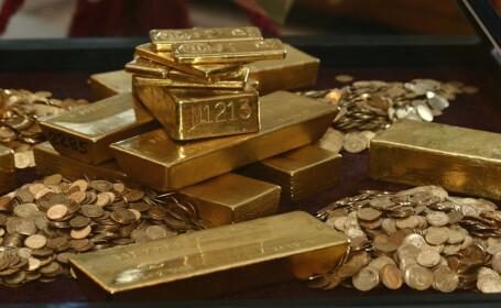 Pretul aurului a atins un nivel istoric: 137 de lei pe gram