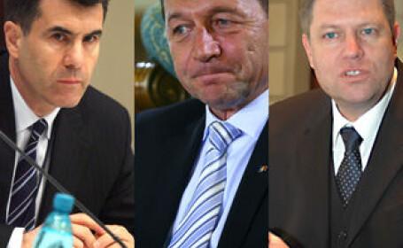 Croitoru, Basescu, Johannis