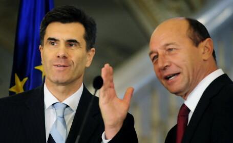 Lucian Croitoru si Traian Basescu