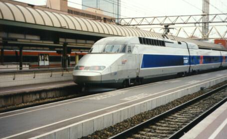 Traficul feroviar complet paralizat in Franta! E greva!