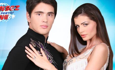 Monica Columbeanu, Dansez pentru tine, Andrei Vlad