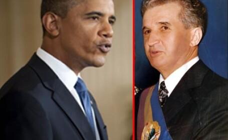 Barack Obama si Nicolae Ceausescu