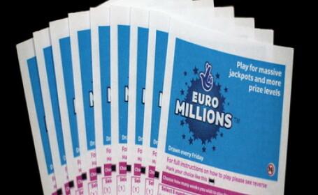 Englezii au doborat recordul Euroloteriei! S-au castigat 130 milioane euro