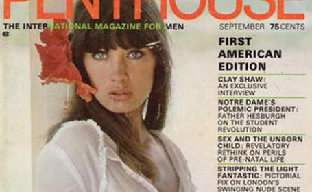 Prima coperta e revistei Penthouse