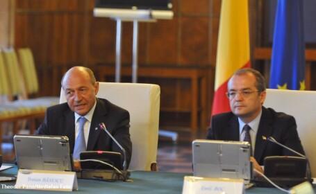 Boc si Basescu