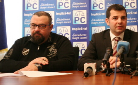 Cristian Popescu Piedone si Daniel Constantin