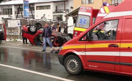 A murit si a treia victima a accidentului produs de Serban Huidu