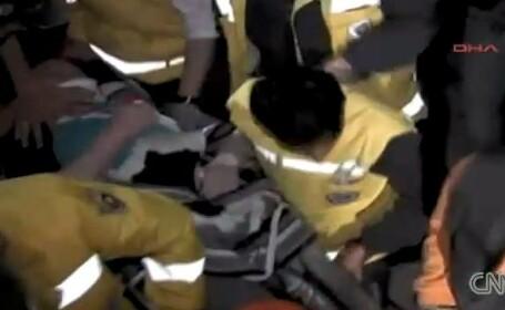 Ultimul bilant oficial al cutremurului din Turcia: 264 morti si 1.300 de raniti