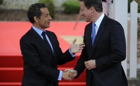 Sarkozy, atac la Cameron la summitul UE. Ce l-a facut sa spuna:\