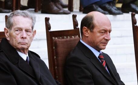 Traian Basescu si Regele Mihai