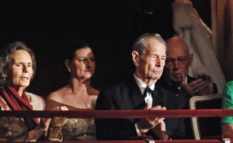 Brunch oferit la Palatul Elisabeta in cinstea Regelui Mihai