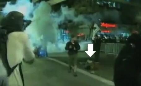 VIDEO. El ar putea fi primul om care moare in urma protestelor de pe Wall Street