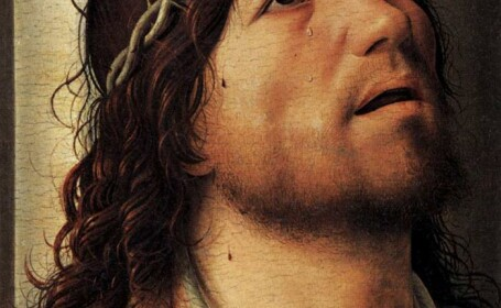 Chipul lui Iisus Hristos manjit cu fecale, de dragul artei. Blasfemia care inflameaza credinciosii