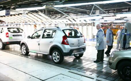 Mioveni, fabrica Dacia
