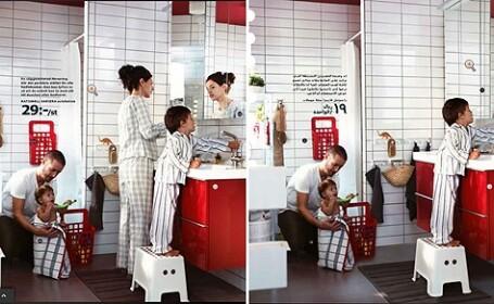 IKEA, criticata dur dupa ce a facut o modificare majora in catalogul companiei din Arabia Saudita
