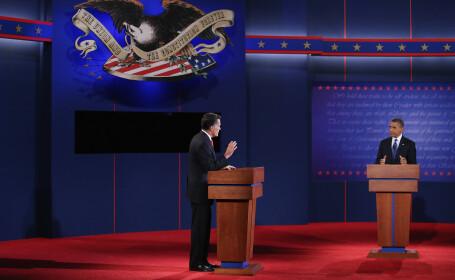 Mitt Romney si Barack Obama