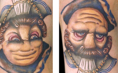Arata ca un tatuaj, dar vei ramane cu gura cascata cand iti vei da seama ce inseamna. GALERIE FOTO