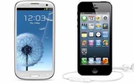 iPhone 5 vs. Samsung Gallaxy S III