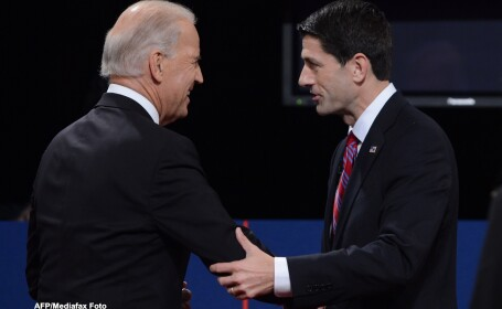 Sondaj CNN: Paul Ryan este considerat castigatorul dezbaterii cu Joe Biden