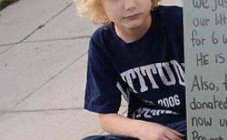 FOTO. Mesajul emotionant al unui baiat de 7 ani catre hotul care i-a furat cea mai draga jucarie