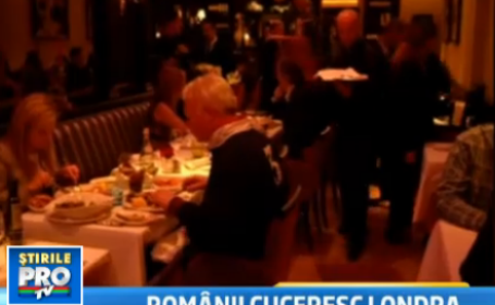 restaurant romanesc, Londra