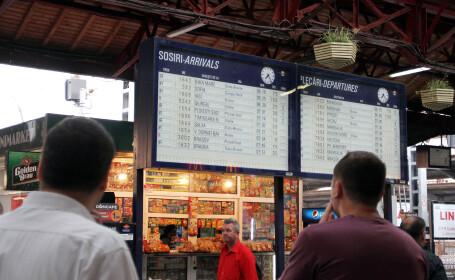 trenuri, Gara de Nord