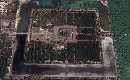 Angkor Wat google eart