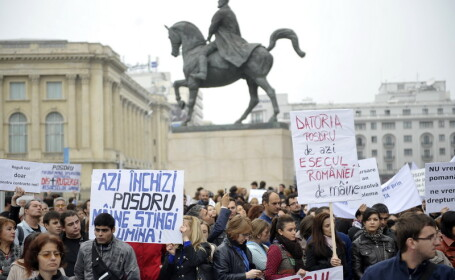 proteste, fonduri europene, POSDRU