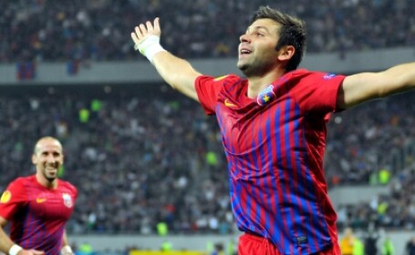 Steaua 2-0 Molde: goluri Chiriches si Rusescu,Steaua strange 7 puncte in Grupele Europa League.VIDEO