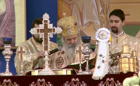 Slujba de Sf. Dimitrie de la Patriarhie, oficiata de Inalt Preasfintitul Mitropolit Efrem al Greciei