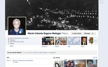 FOTO. Ea este cea mai batrana utilizatoare a Facebook. Vezi cum arata, la 105 ani