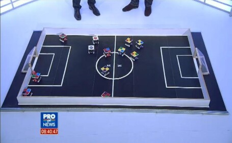 Fotbal cu roboti