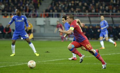 Steaua - Chelsea 0-4. Dubla pentru Ramires, gol Lampard, autogol Georgievski